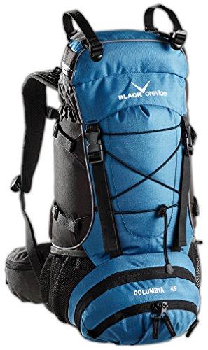 Black Crevice Columbia BCR3202: Mochila  60 x 35 22 cm  45   Color Azul