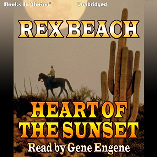 Heart of the Sunset audiobook cover art