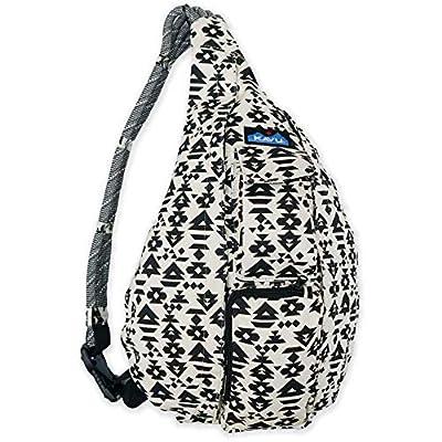 KAVU Original Rope Bag Cotton Crossbody Sling ?- BW Imprint