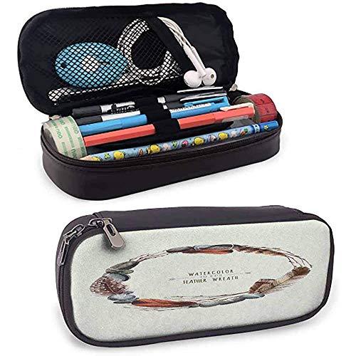 Guirnalda de vector en estilo acuarela. Stones - Estuche para lápices, rotulador, papelería, soporte para bolsa