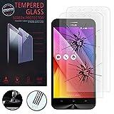 HCN PHONE® Lot 2 Films Verre Trempé de protection d'écran pour Asus Zenfone Max ZC550KL -...
