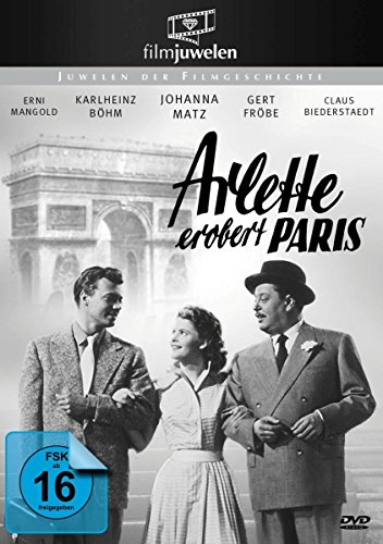 Arlette erobert Paris - mit Gert Fröbe, Johanna Matz, Karlheinz Böhm (Filmjuwelen)