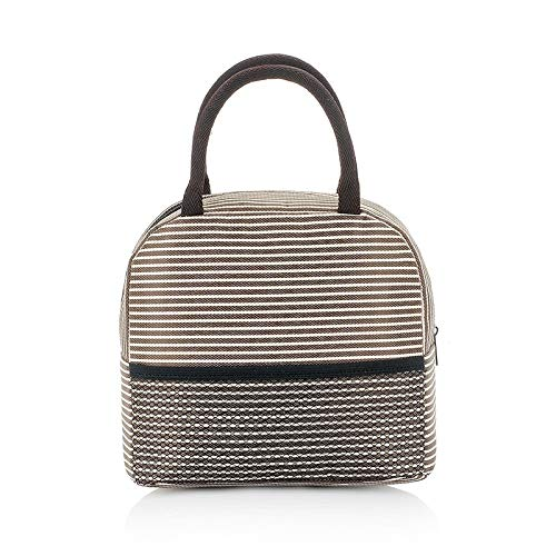 Lunch Bag Insulated Bag Work School Picnic Cooler Dot Pattern Kids School Snack Bag,21x12x20cm