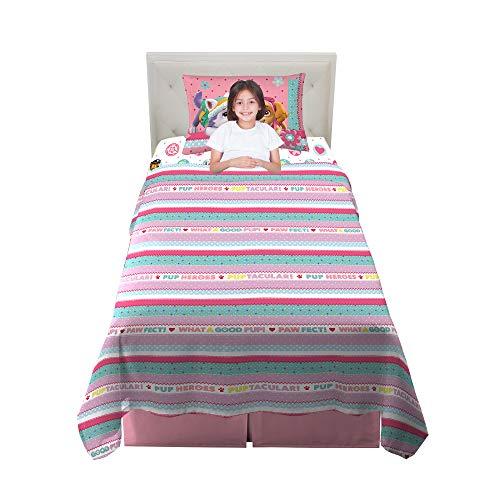 Franco Kids Bedding Super Soft Sheet Set, 3 Piece Twin Size, Paw Patrol Pink