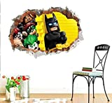 3D Wall Stickers Broken Three-Dimensional Wall Nursery Nursery Nursery Environment Layout Mobile Wall Stickers
