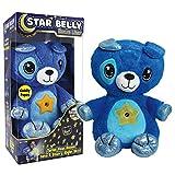 Star Belly Dream Lites Peluche Cachorro Que proyecta un Cielo de Estrellas de Colores en la habitación