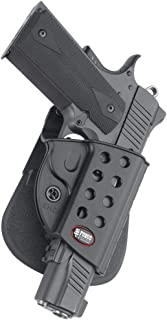 Fobus R1911 Evolution Holster for All 1911 style pistols with or without rail , Right..