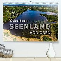 Oder-Spree Seenland von oben (Premium, hochwertiger DIN A2 Wandkalender 2022, Kunstdruck in Hochglanz): Die Luftbilder des Seenlandes Oder-Spree zeigen die vielfaeltige Natur Brandenburgs. (Monatskalender, 14 Seiten )