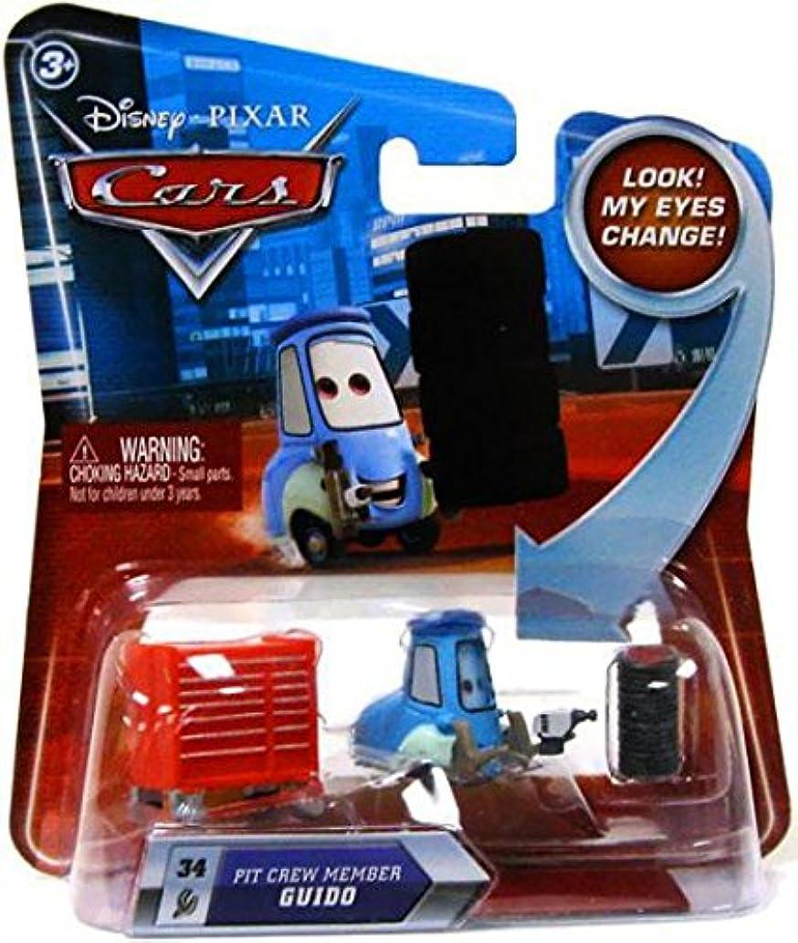 Disney Cars Lenticular Eyes Pit Crew Member Guido - Series 2