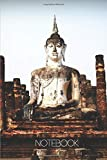 Notebook - Travel Journal - 110 pages: Bangkok, Thailand - Stone Buddha