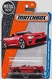 Matchbox 2017 MBX Adventure City '16 Chevy Camaro Convertible 2/125, Red