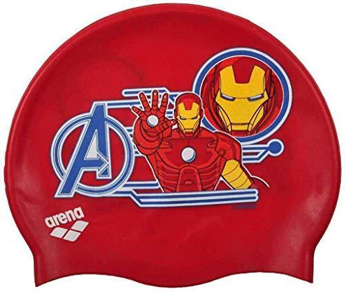 ARENA DM Jr Cuffia da Nuoto, Multicolore, Marvel Iron Man, Taglia Unica