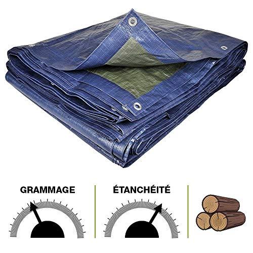 180g//m² Boots bâche protection bâche bâches de couverture bois Bâche de tissus bâche 2x3m
