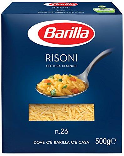 Barilla Pasta Risoni n. 26, 500 g