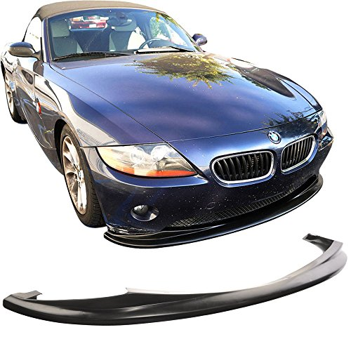 2003 2004 Front Bumper Lip Compatible With 2002-2005 BMW Z4 Roadster Coupe /& Convertible DS Style PU Black Front Lip Spoiler Splitter by IKON MOTORSPORTS