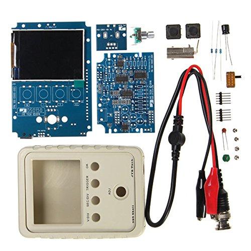 Bargain World Orignal Jye Tech DS015015001K dso-shell fai da te Kit oscilloscopio digitale con custodia