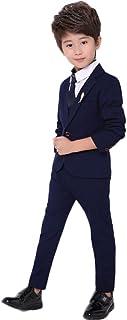 topmodelss ボーイズスーツ 子供服 ジャケット ズボン ネクタイ3点セット フォーマル 入園式 卒園式 入学式 卒業式 結婚式 発表会 七五三