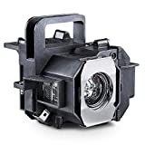 OMAIC V13H010L49 Projector Lamp for Epson ELPLP49 PowerLite Home Cinema 9700UB 6100 6500UB 8100 8345 8350 8500UB 8700UB Projector Replacement Bulb