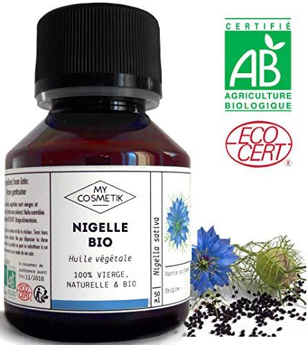 Huile végétale de Nigelle BIO - MyCosmetik - 50...