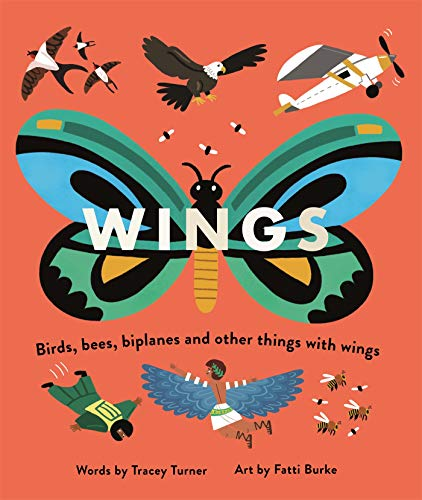 Wings: Birds, Bees, Biplanes and Other Things with Wings (Wheels/Wings) (English Edition)
