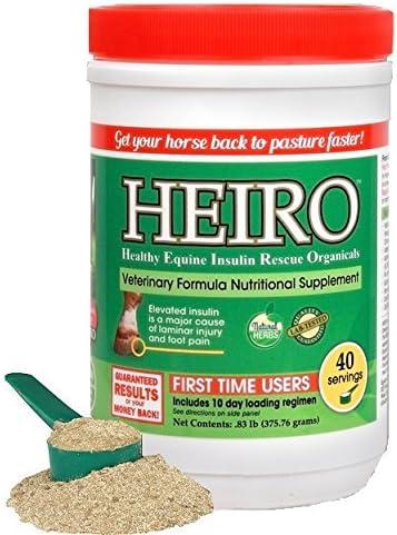 Heiro Healthy Equine Brand Cheap Sale Venue Horse Insulin Rescue Resistant Organicals 4 SALENEW very popular