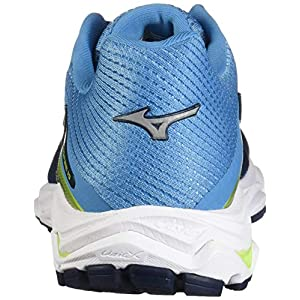 Mizuno Men's Wave Inspire 15 Running Shoe Blue Wing Teal-Dress Blue, 7 D US
