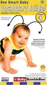 Bee Smart Baby Vocabulary Builder 1 [VHS]
