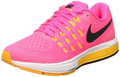 Nike Wmns Air Zoom Vomero 11, Zapatillas de Running Mujer, Rosa (Pnk Blst/Blk-LSR Orng-ATMC Pnk), 36 1/2
