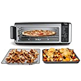 Ninja SP101 Foodi 8-in-1 Digital Air Fry, Large Toaster Oven, Flip-Away for Storage, Dehydrate, Keep...
