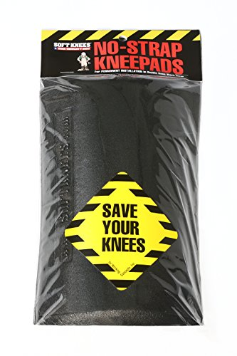 "1010 Soft Knees No Strap Knee Pads - Inserts 6"" x 9"""