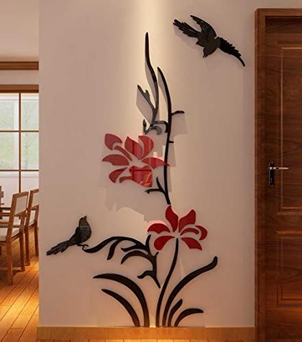 3d wall decals flowers _image0