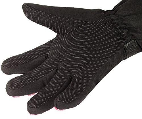 KINEED Skihandschuhe Damen Warm Winter Wasserdicht Snowboardhandschuhe Fahrrad Thermisch Thinsulate Handschuhe - 3