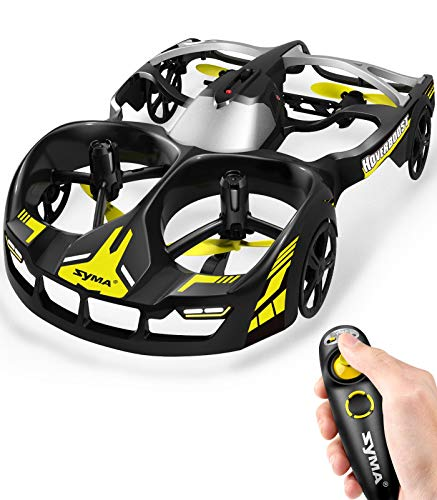 SYMA Remote Control Drone & Car 2 in 1, 2.4GHz RC Quadcopter Driving & Flying Toys for Kids and Adult