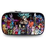 Dragon Ball Astuccio per Matite Astucci multifunzione sacchetto della matita ampi scomparti trucco sacchetti della penna sacchetto di immagazzinaggio for ragazzi e ragazze svegli sacchetto cosmetico d