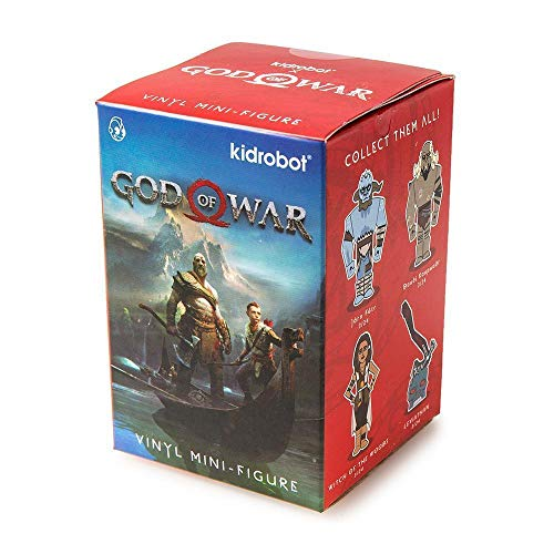 Kidrobot God of War Blind Box Mini Series Toy Figure - Single Box