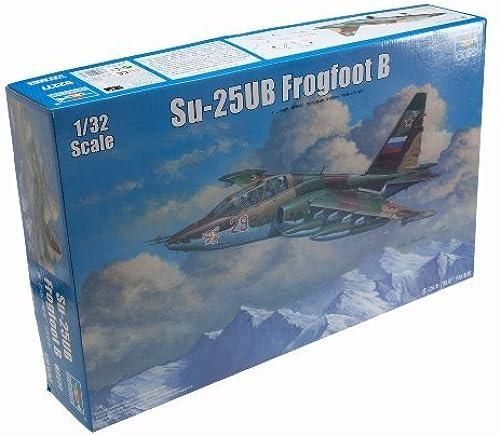 respuestas rápidas Trumpeter 1 32 Su25UB Frogfoot B Russian Trainer Aircraft Model Model Model Kit by Trumpeter  conveniente