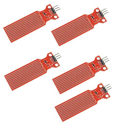 5 Unidades de Módulo Sensor detector nivel de agua Sensor de nivel de líquido Módulo Profundidad de detección