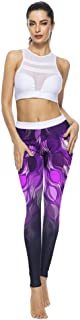 Pantalones De Yoga,Impresos En 3D De Moda Mujer Pantalones De Yoga Fitness Leggings Pantalones De Cintura Alta Yoga Ejercicios Gimnasio Deportes Ocio Ejecutando Leggings Pantalones Slim Desgaste Pant