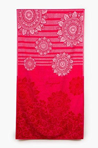 Desigual Duschhandtuch Jaquard   Romantic Patch - 86 x 160 cm