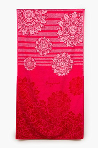 Desigual Toalla de ducha Jaquard | Romantic Patch - 86 x 160 cm