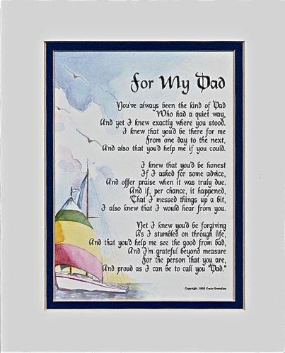 Genie's Poems A 60th 65th 70th 80th Birthday Present for a Dad, 24,