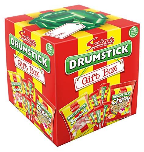 Swizzels Drumstick-Geschenkbox, Würfelform, 362 g
