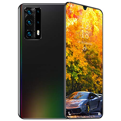 Entsperrte Smartphones, entsperrtes Android-Smartphone mit 6,5-Zoll-FHD + LCD-Display, 16 + 32 MP dreifaches...