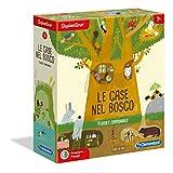 Clementoni - 16198 - Sapientino - Le Case nel bosco - tessere illustrate, puzzle incastro ...