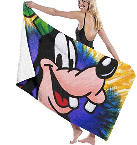 YeeATZ Goofy Towels - Toallas multiusos, de secado rápido, muy absorbentes, para la playa y la piscina, 31 x 51 pulgadas, para mujeres y hombres