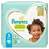 Pampers Premium Protection - Pañales (talla 5, 26 unidades, 11-16 kg)