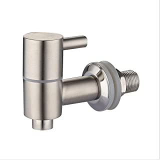 More Durable Beverage Dispenser Replacement Spigot,Stainless Steel Polished Finished, Water Dispenser Replacement Faucet, fits Berkey and other Gravity Filter systems as well (Silver)