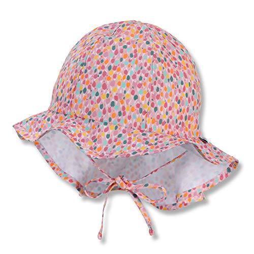 Sterntaler Baby-Mädchen Flapper 1412115 Hut, rosa, 45
