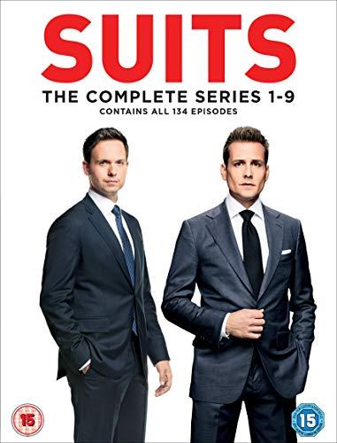 Suits Season 1-9 [DVD] [2019]