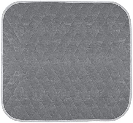 """Americare Absorbent Washable Waterproof Seat Protector Pads 21""""x22"""" - Brown"""